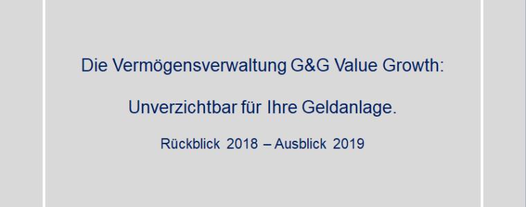 Investmentbrief März 2019 – Rückblick und Ausblick