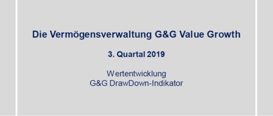 3. Quartal 2019 – Vermögensverwaltung G&G Value Growth